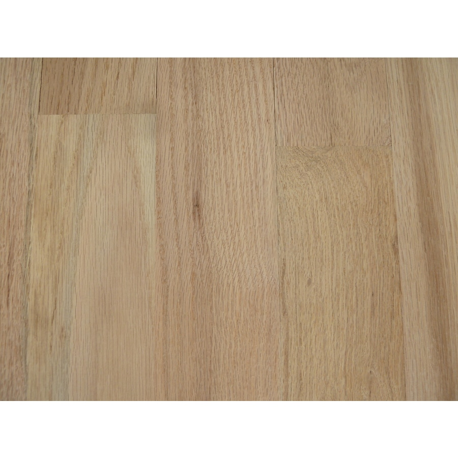 North Pacific Unfinished 2 25 In W Oak Hardwood Flooring Red