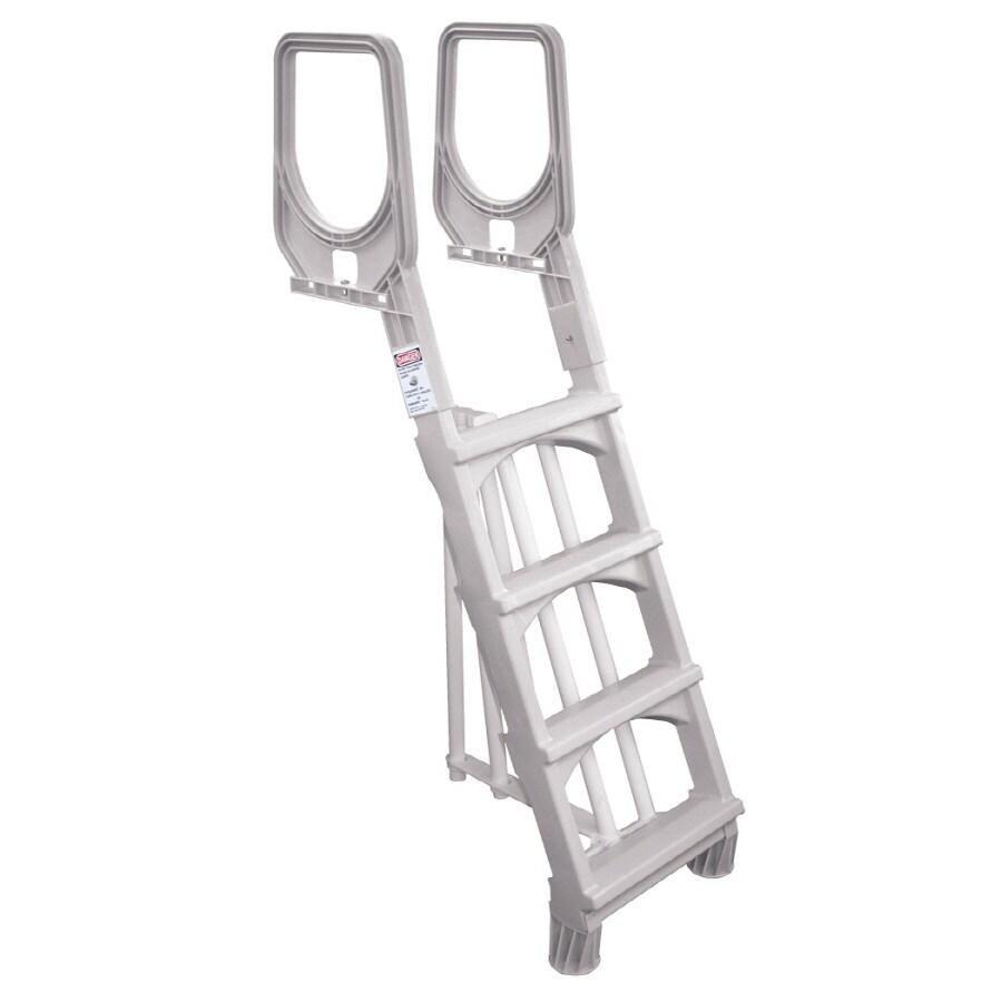 Aqua EZ 52-in Plastic Pool Deck Ladder