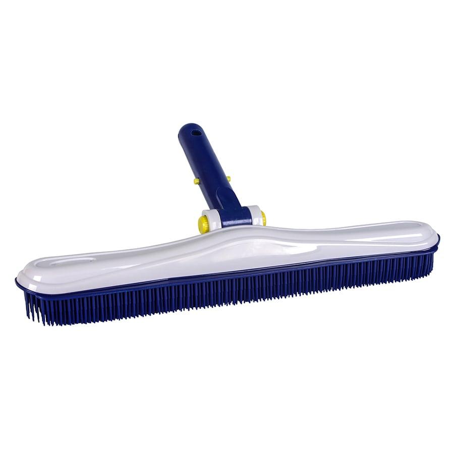 Aqua EZ 16-in Plastic Wall Brush Pool Brush