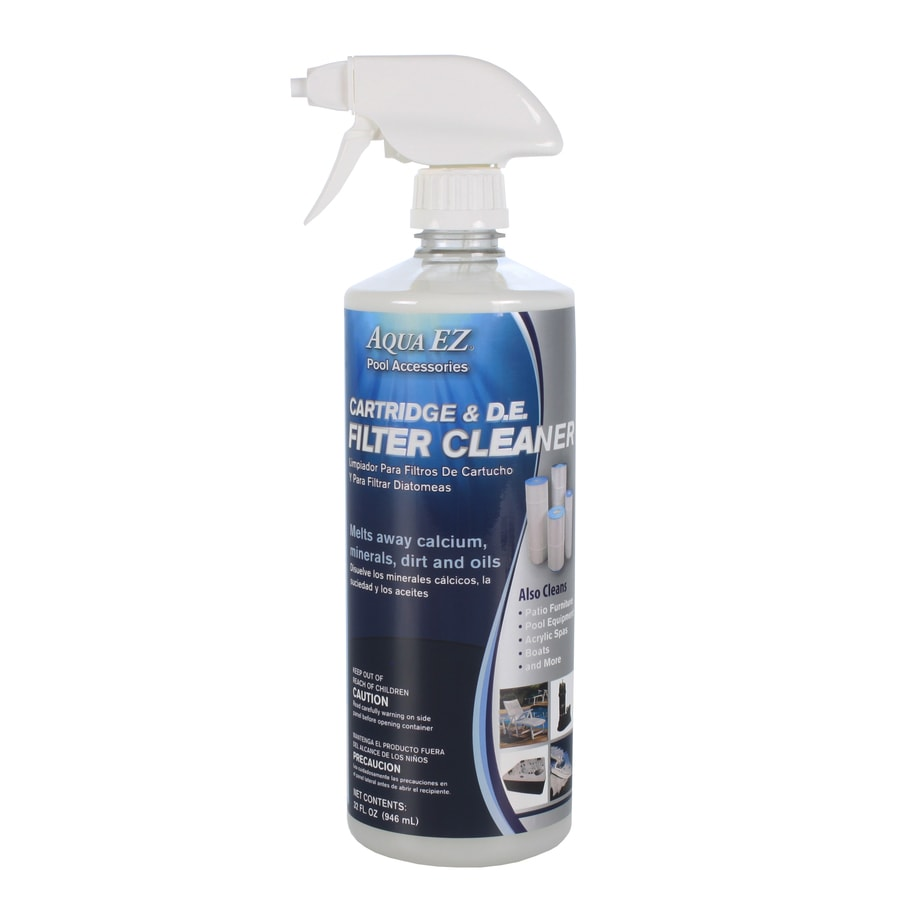 Aqua EZ 32-oz D.E. and Cartridge Pool Filter Cleaner