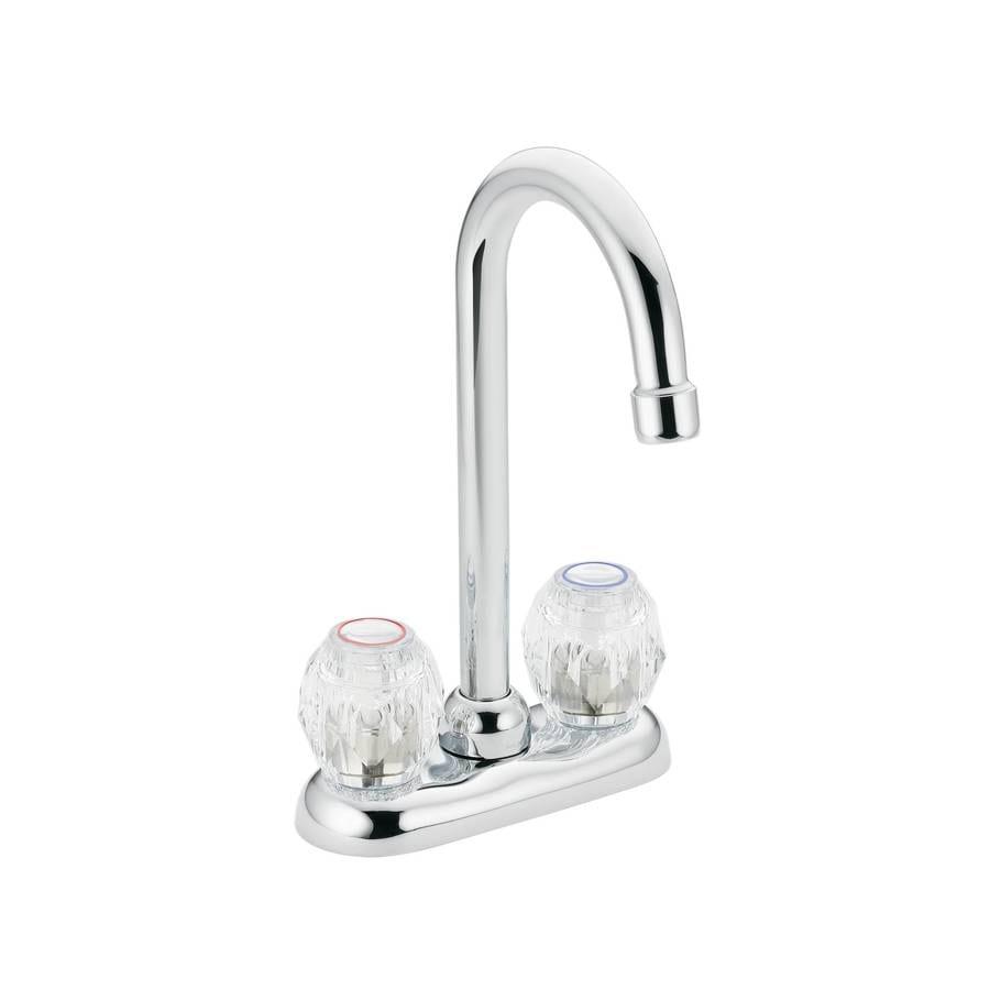 Shop Moen Chateau Chrome 2 Handle Kitchen Faucet At