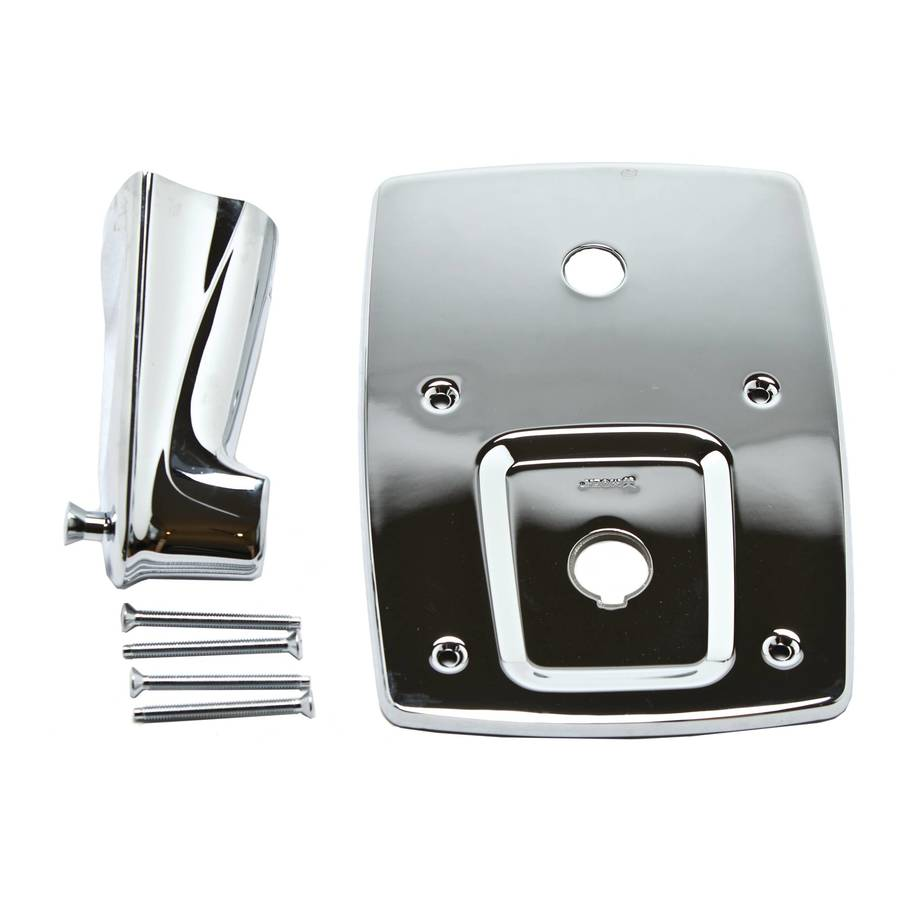 shop moen chrome adjustable wall mount bathtub faucet at. Black Bedroom Furniture Sets. Home Design Ideas