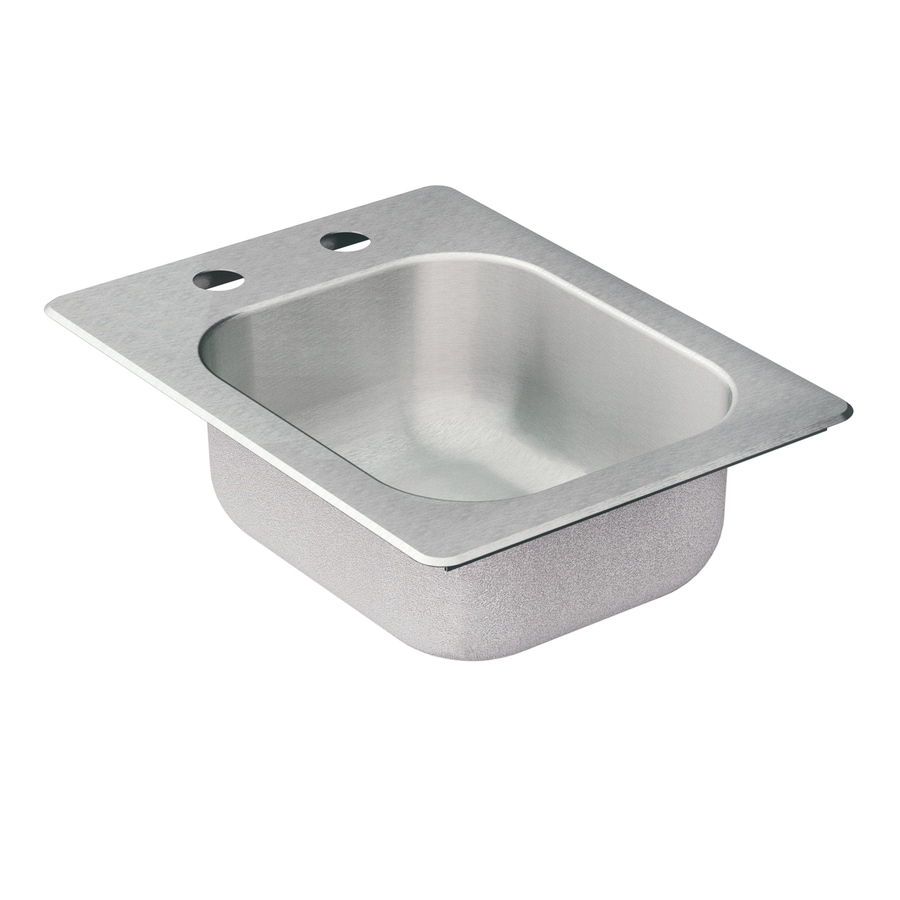 Moen Camelot 20-Gauge Single-Basin Drop-In Stainless Steel Bar Sink