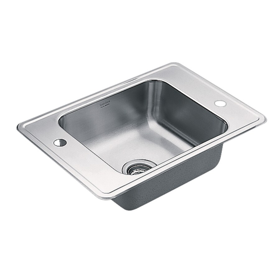 Moen Csi Commercial Stainless Steel Drop-in Residential Bar Sink