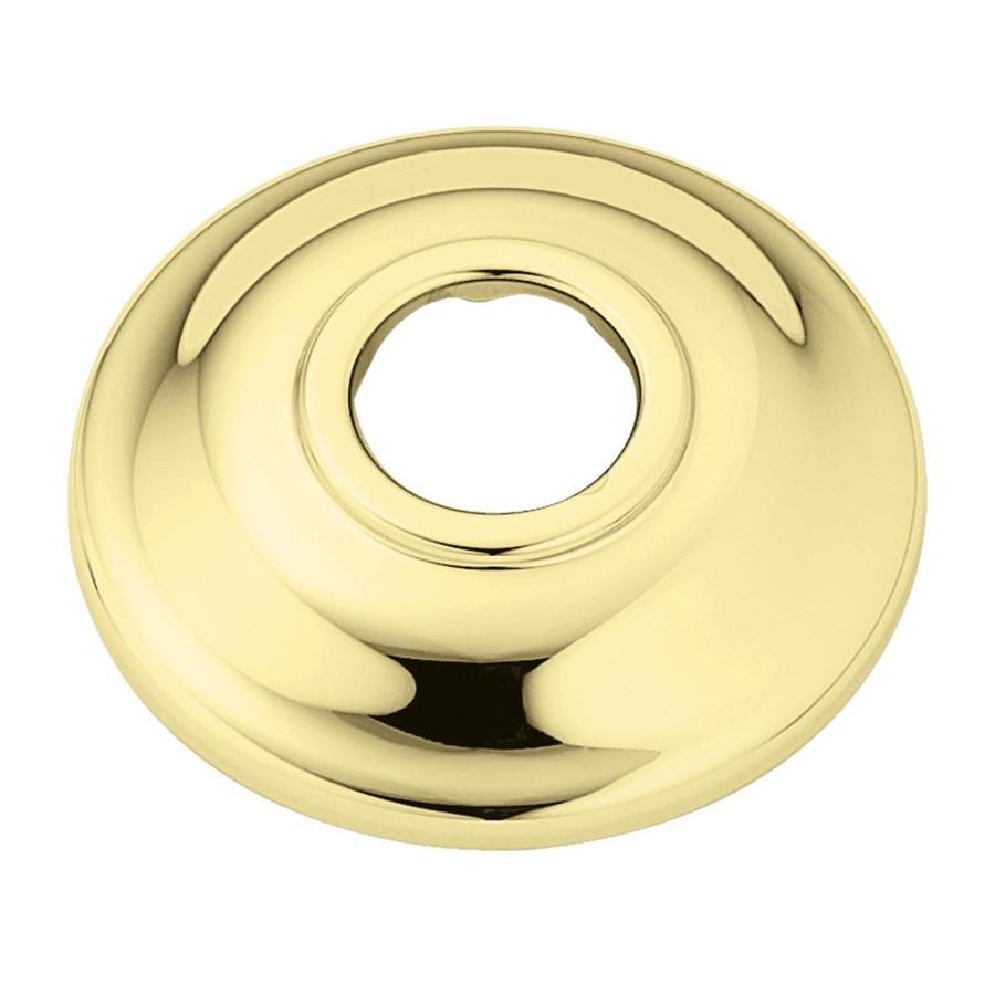 Moen 3.5-in Polished Brass Shallow Flange