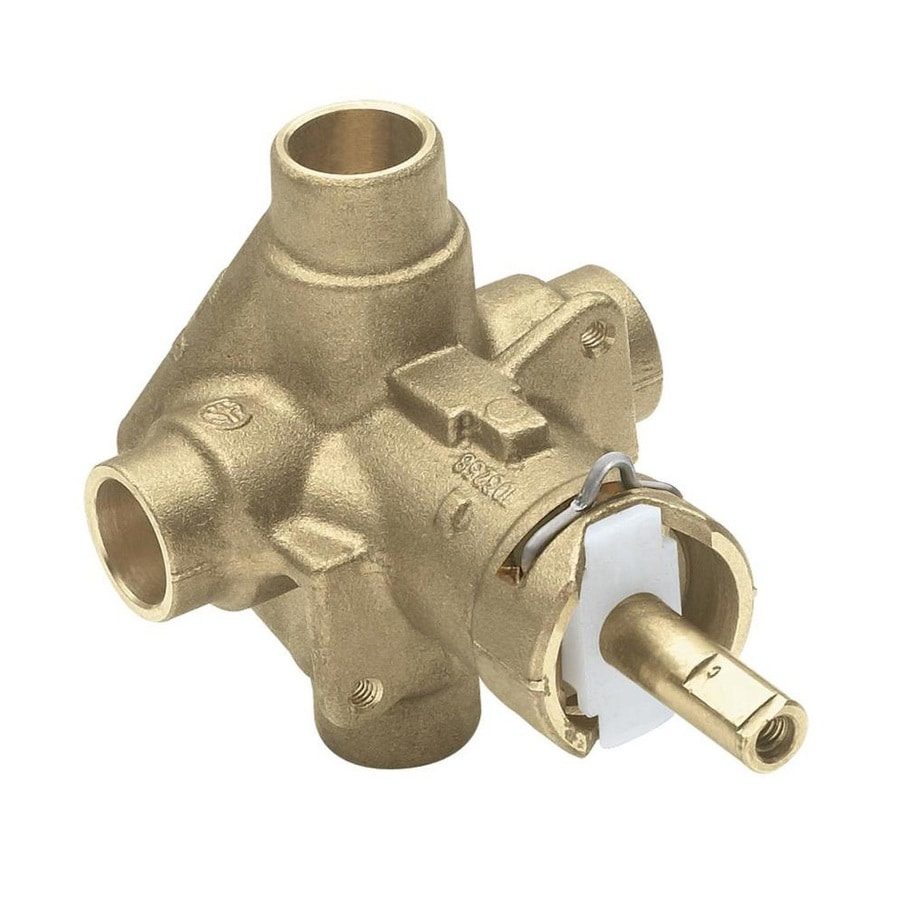 Shop Moen 1 2 In Brass Compression In Line Rough In Valve