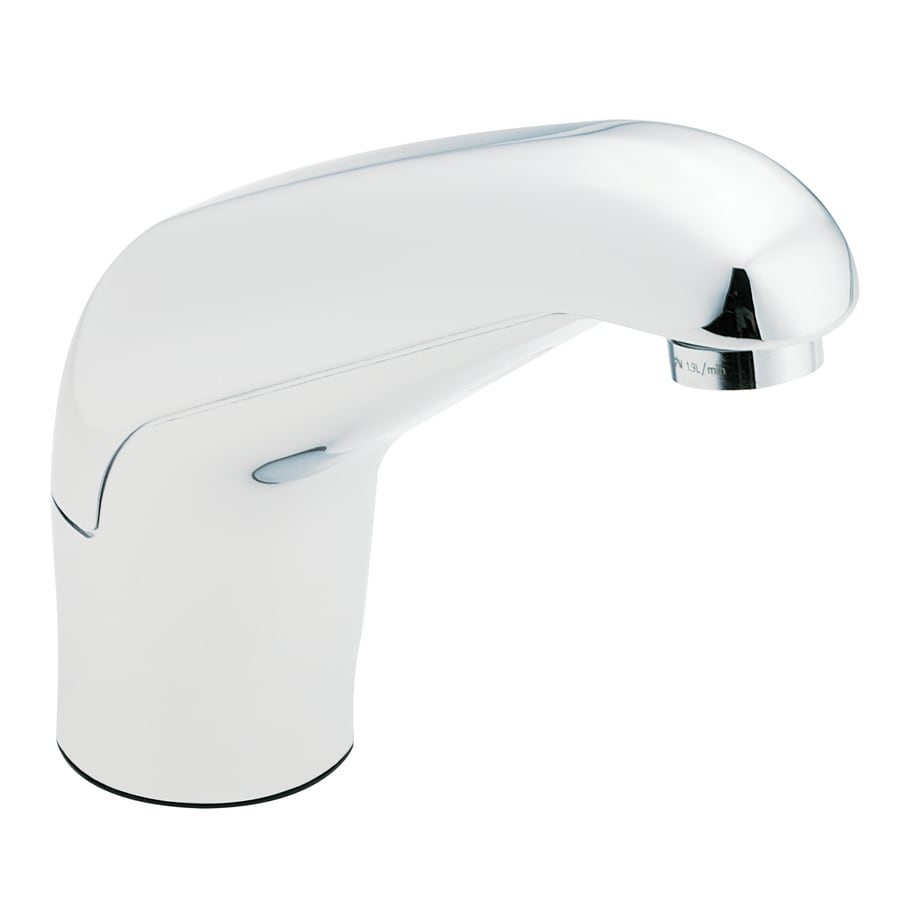 Bathroom Faucets From Lowes shop moen commercial chrome touchless single hole bathroom faucet