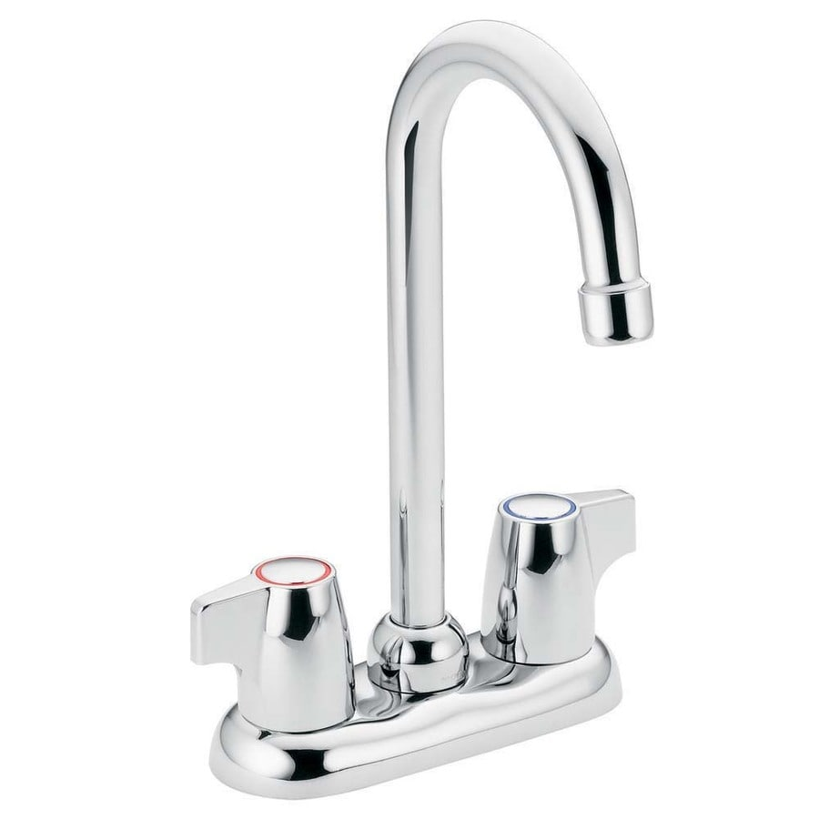 Moen Chateau Chrome 2-Handle Bar and Prep Faucet