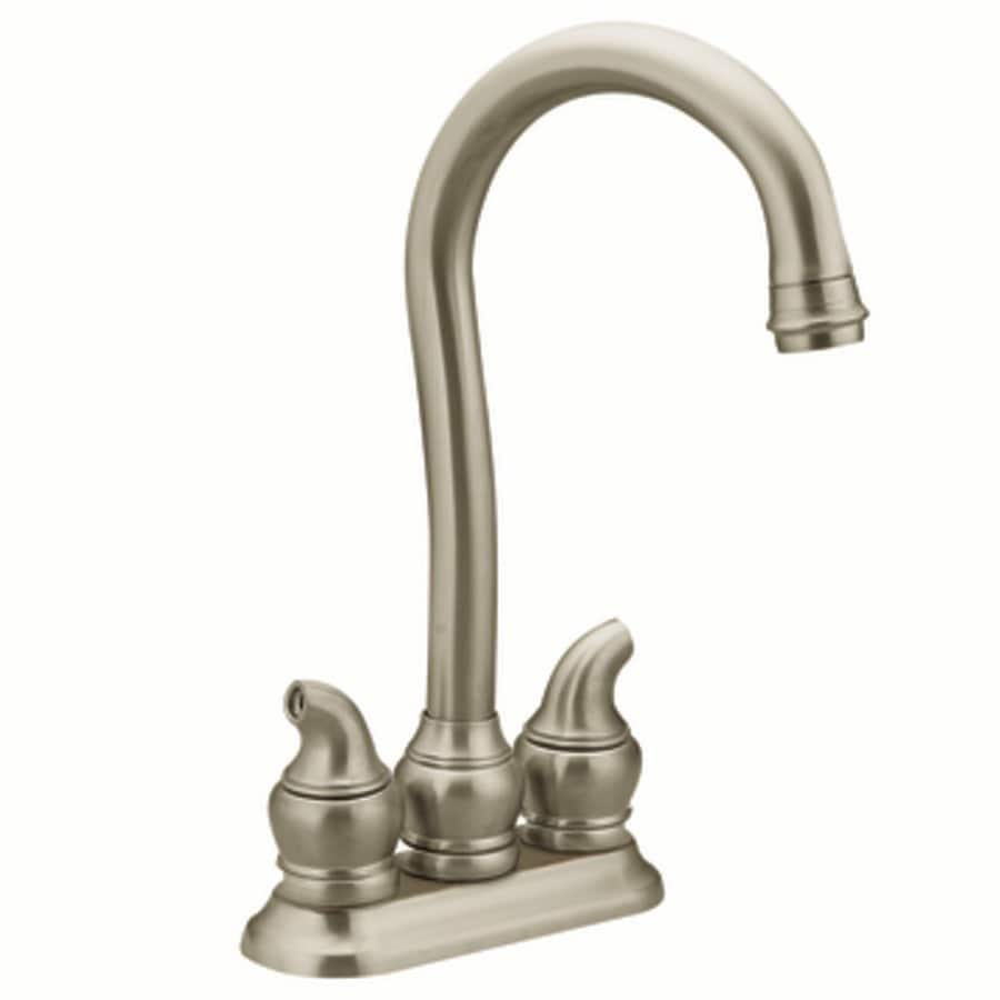 Moen Monticello Stainless 2 Handle Kitchen Faucet