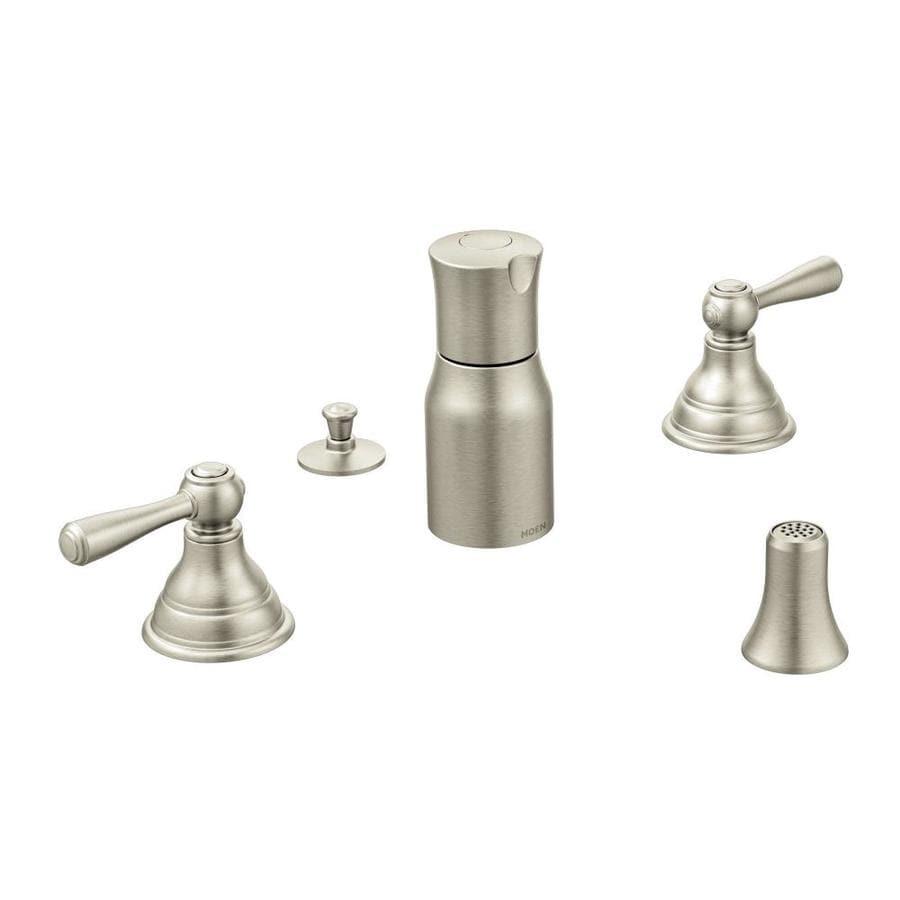 Moen Kingsley Brushed Nickel Vertical Spray Bidet Faucet