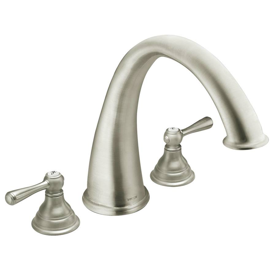 Moen Kingsley Brushed Nickel 2-Handle Transfer Faucet