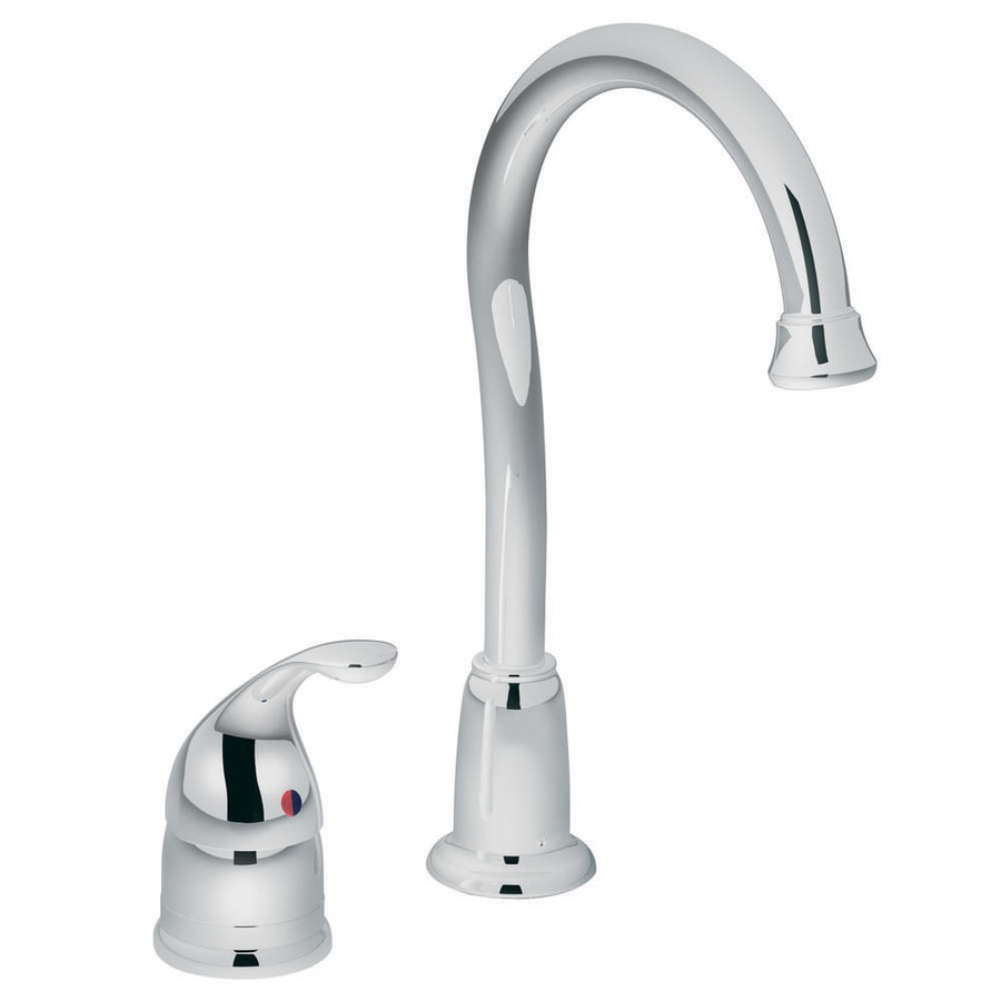 Moen Camerist Chrome 1-Handle Bar and Prep Faucet