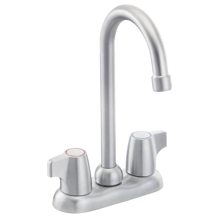 Moen Chateau Brushed Chrome 2-Handle Kitchen Faucet
