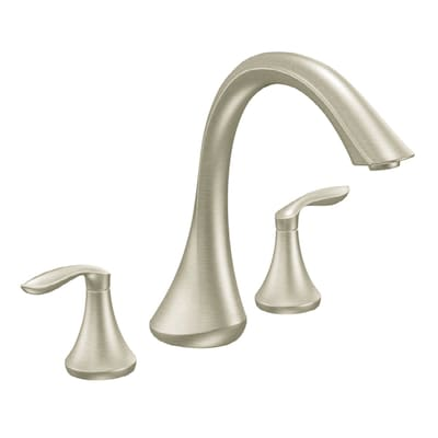 Moen The Eva Collection Brushed Nickel 2 Handle Commercial