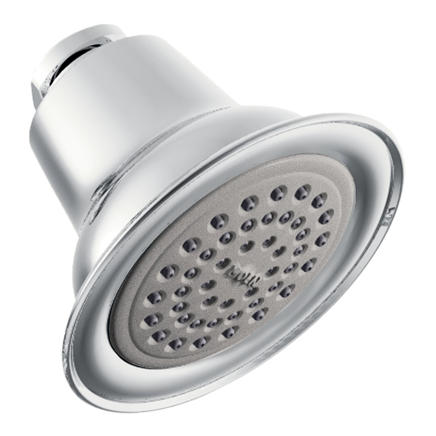Moen Eva 3.375-in 2.5-GPM (9.5-LPM) Chrome Showerhead