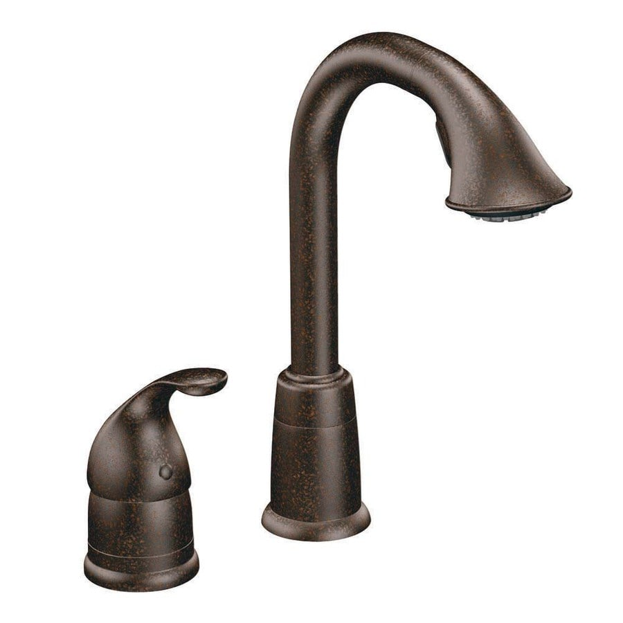 Moen Camerist Oil-Rubbed Bronze 1-Handle Bar and Prep Faucet