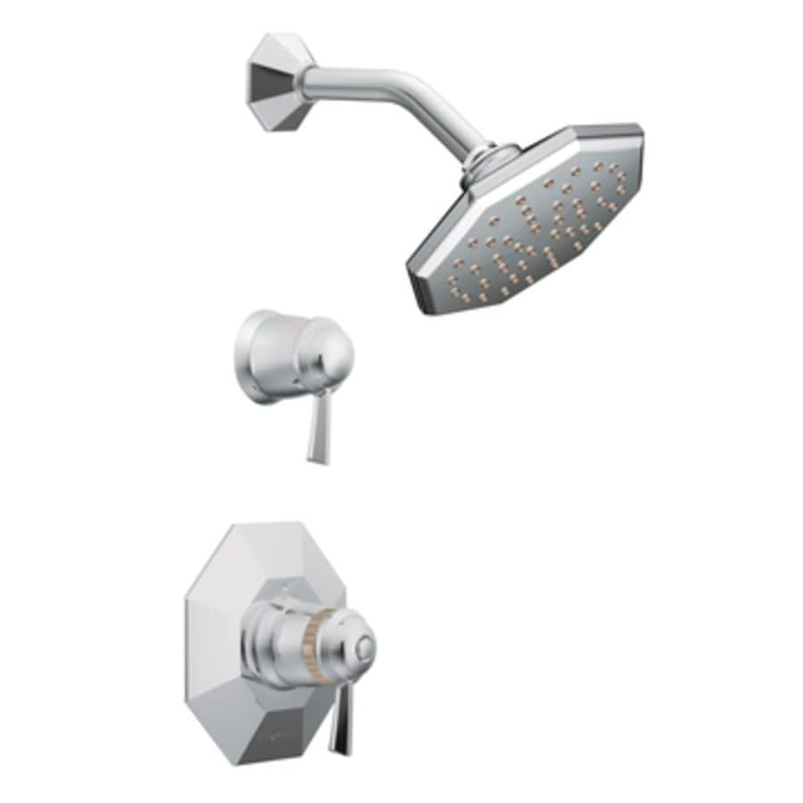 Moen Felicity Chrome 1-Handle Shower Faucet with Single Function Showerhead