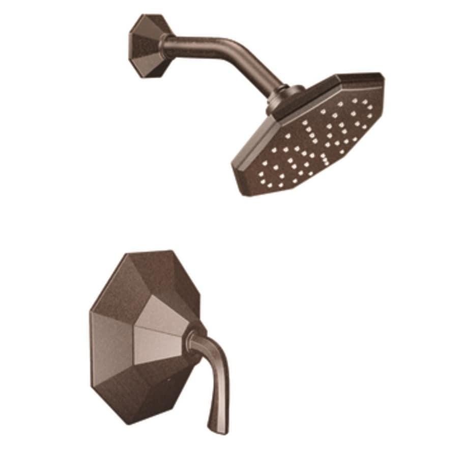 Shop Moen Felicity Oil Rubbed Bronze 1-Handle Shower Faucet Trim Kit ...