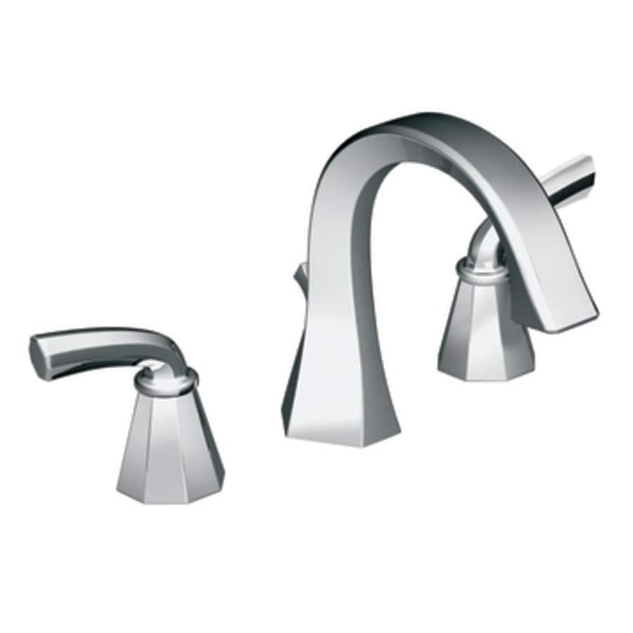 Moen Felicity Chrome 2-Handle Widespread WaterSense Bathroom Faucet