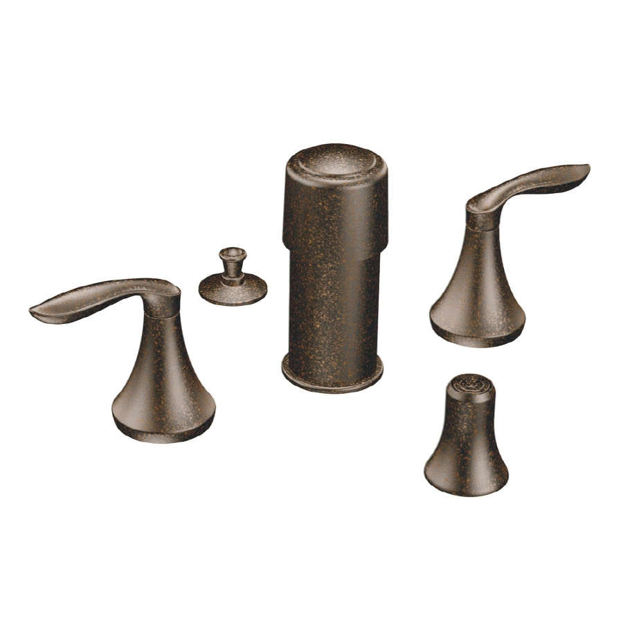 Moen Eva Oil-Rubbed Bronze Vertical Spray Bidet Faucet Trim Kit