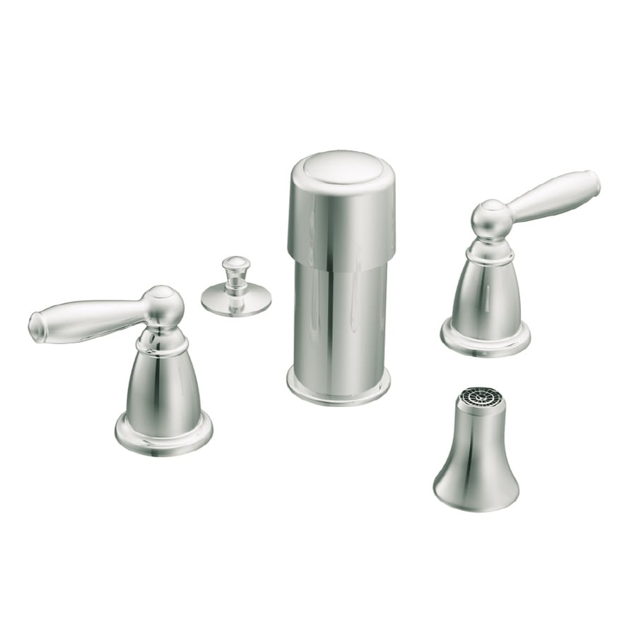 Moen Vestige two-handle bidet trim, Brushed Nickel