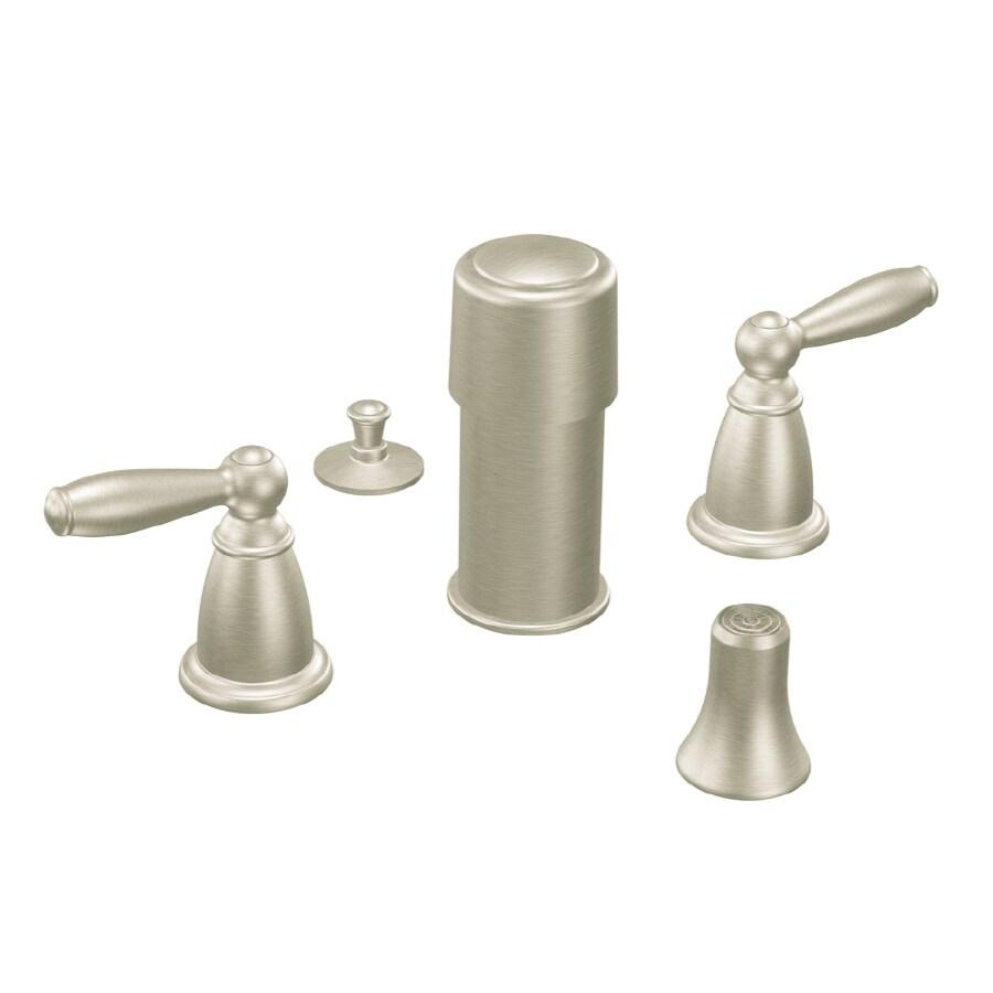 Moen Brantford Brushed Nickel Vertical Spray Bidet Faucet Trim Kit
