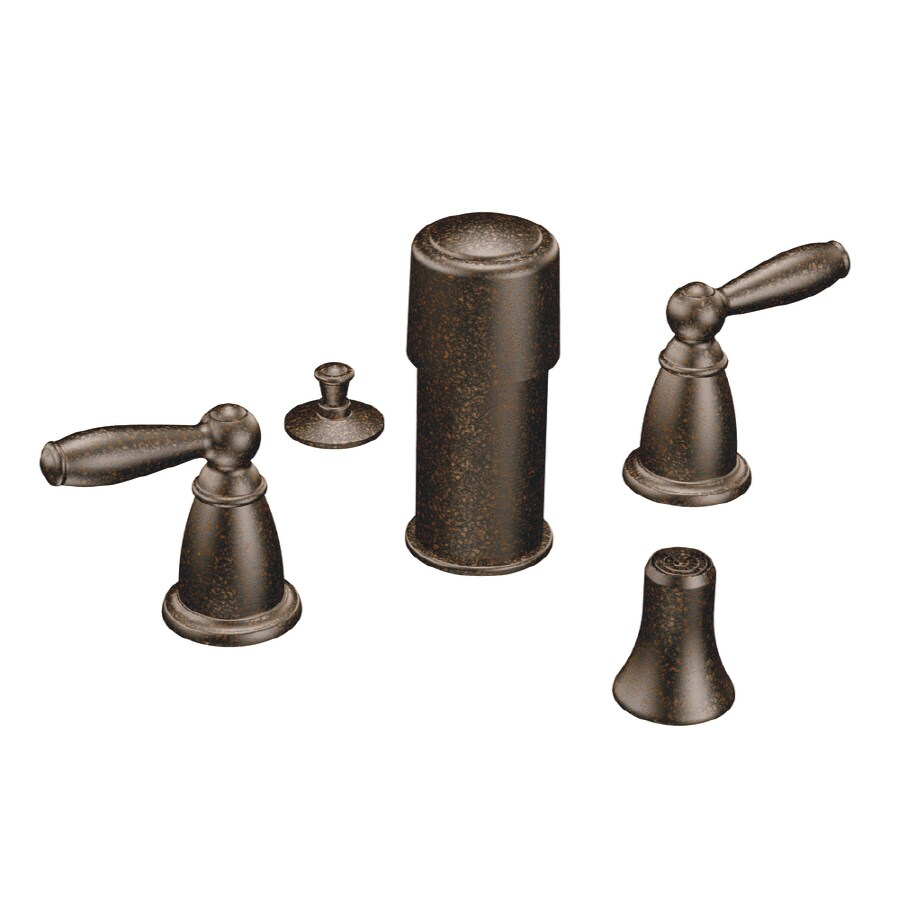 Moen Brantford Oil-Rubbed Bronze Vertical Spray Bidet Faucet Trim Kit
