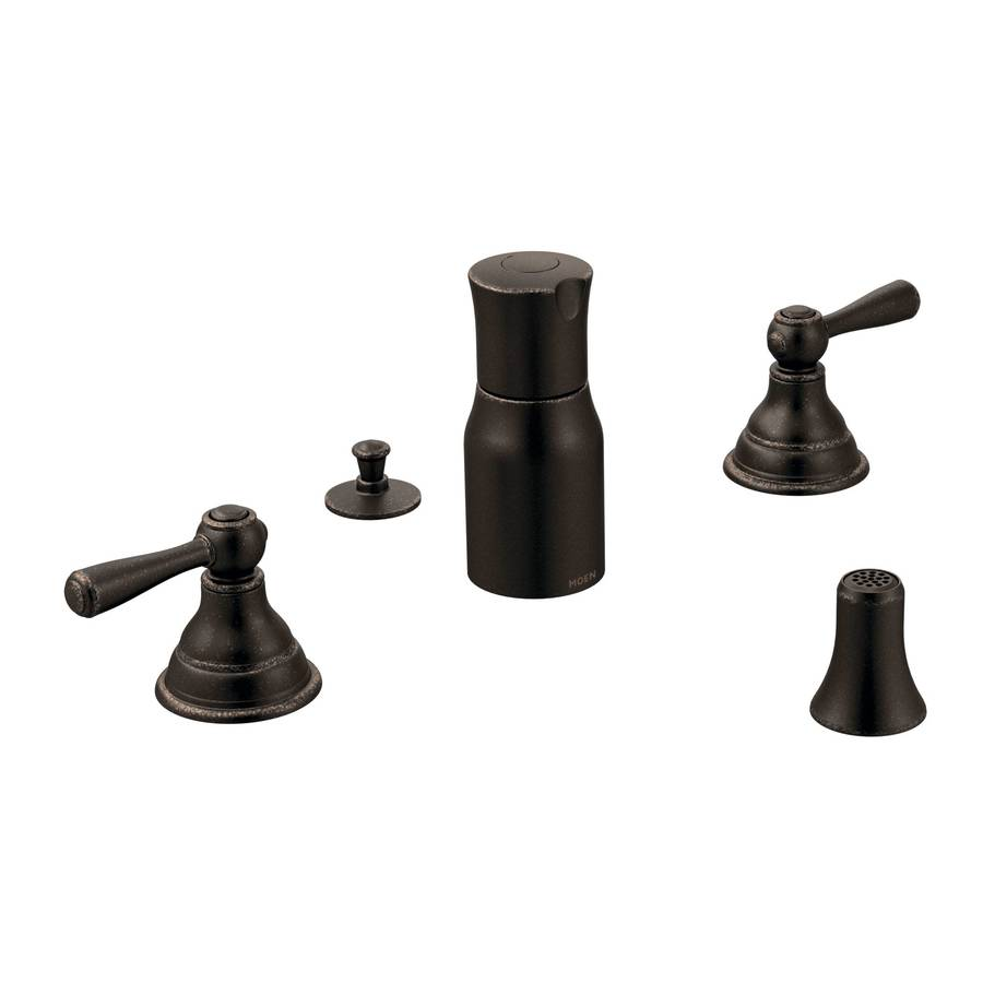 Moen Kingsley Oil-Rubbed Bronze Vertical Spray Bidet Faucet Trim Kit