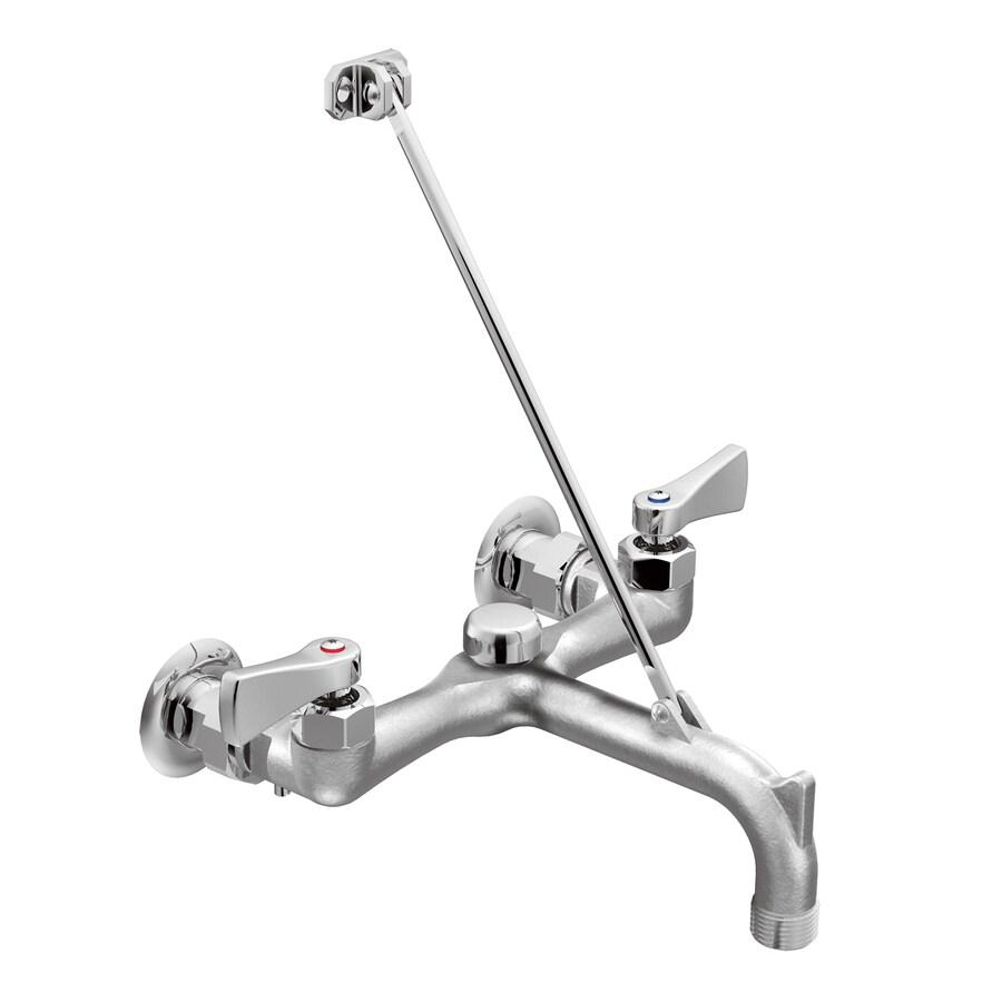 Moen M-Dura Chrome 2-Handle Utility Faucet