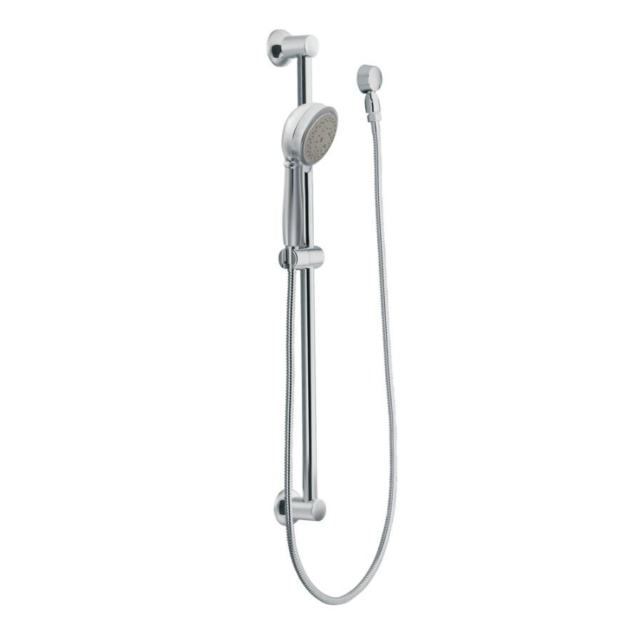 Moen 4-in 2.5-GPM (9.5-LPM) Chrome 4-Spray Hand Shower