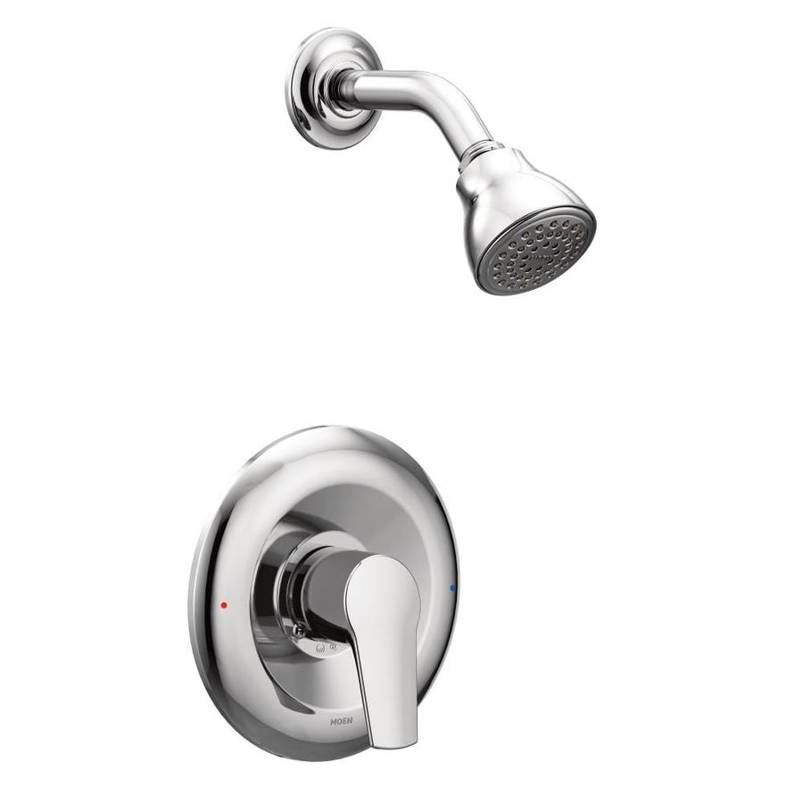 Moen Method Chrome 1-Handle Shower Faucet Trim Kit with Single Function Showerhead