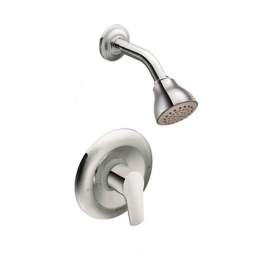 Moen Method Chrome 1-Handle WaterSense Shower Faucet Trim Kit with Single Function Showerhead