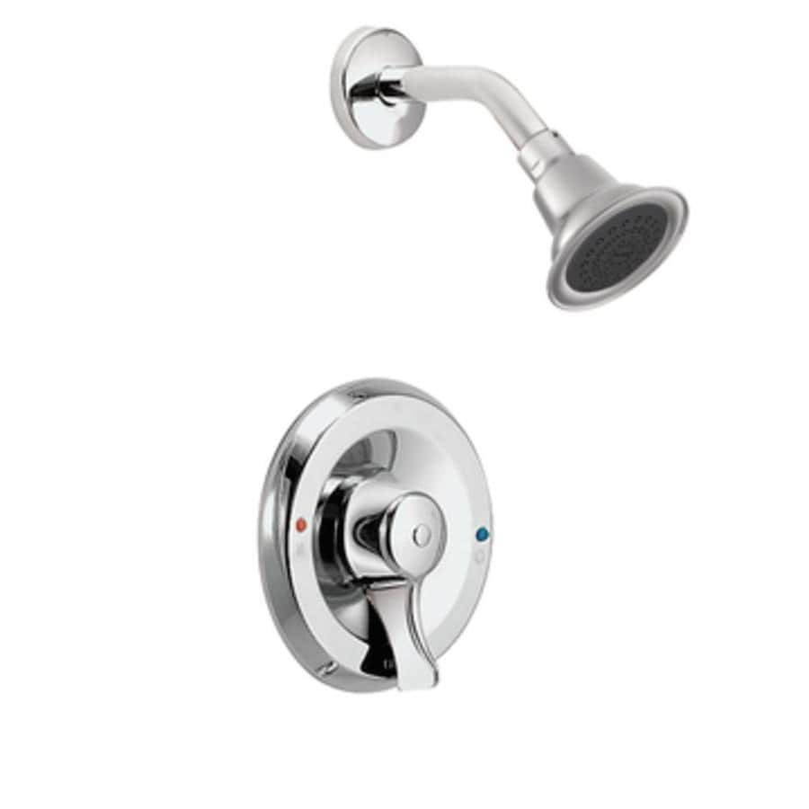 Moen Commercial Chrome 1-Handle Shower Faucet with Single Function Showerhead