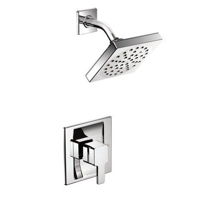 90 Degree Chrome 1-handle Shower Faucet