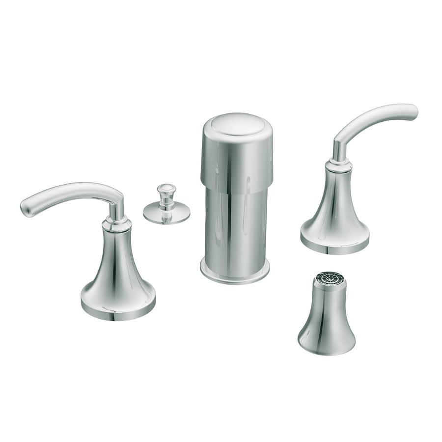 Moen Icon Chrome Vertical Spray Bidet Faucet Trim Kit