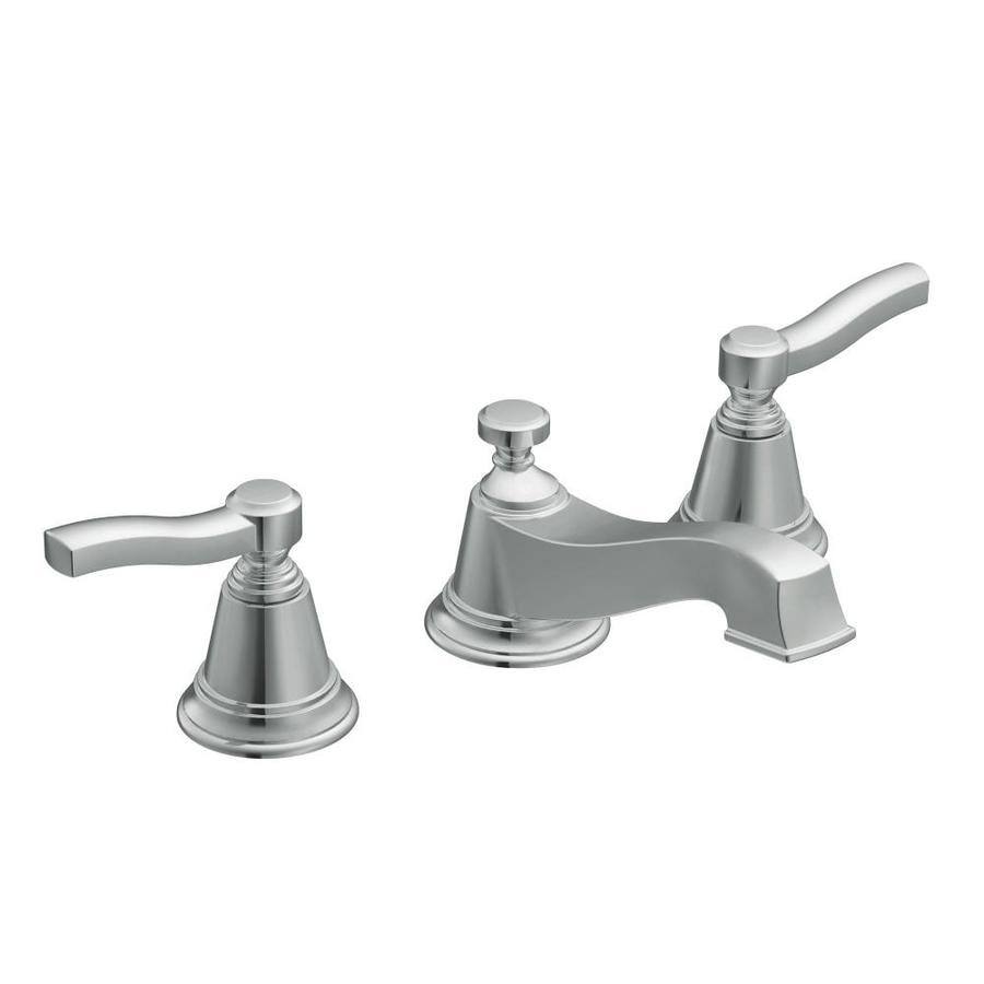 Moen Rothbury Chrome 2-Handle Widespread WaterSense Bathroom Faucet