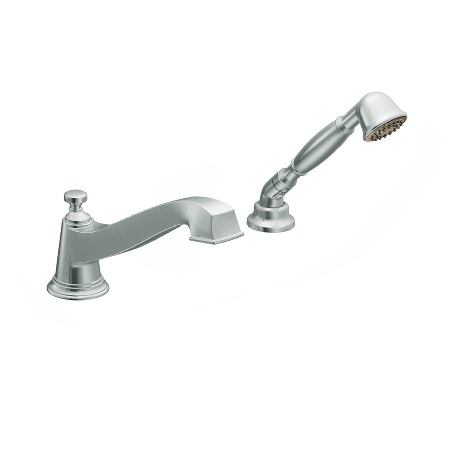 Moen Rothbury Chrome Touchless Adjustable Deck Mount Tub Faucet