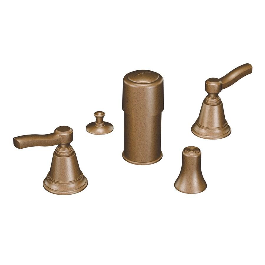 Moen Rothbury Antique Bronze Vertical Spray Bidet Faucet Trim Kit