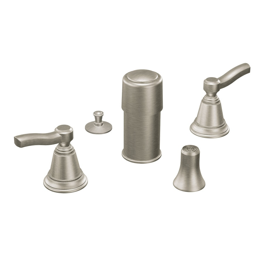 Moen Rothbury Brushed Nickel Vertical Spray Bidet Faucet Trim Kit