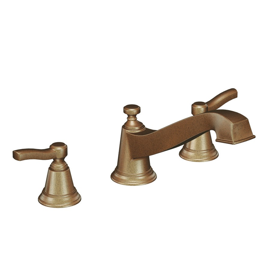 Moen Rothbury Antique Bronze 2-Handle Adjustable Deck Mount Tub Faucet