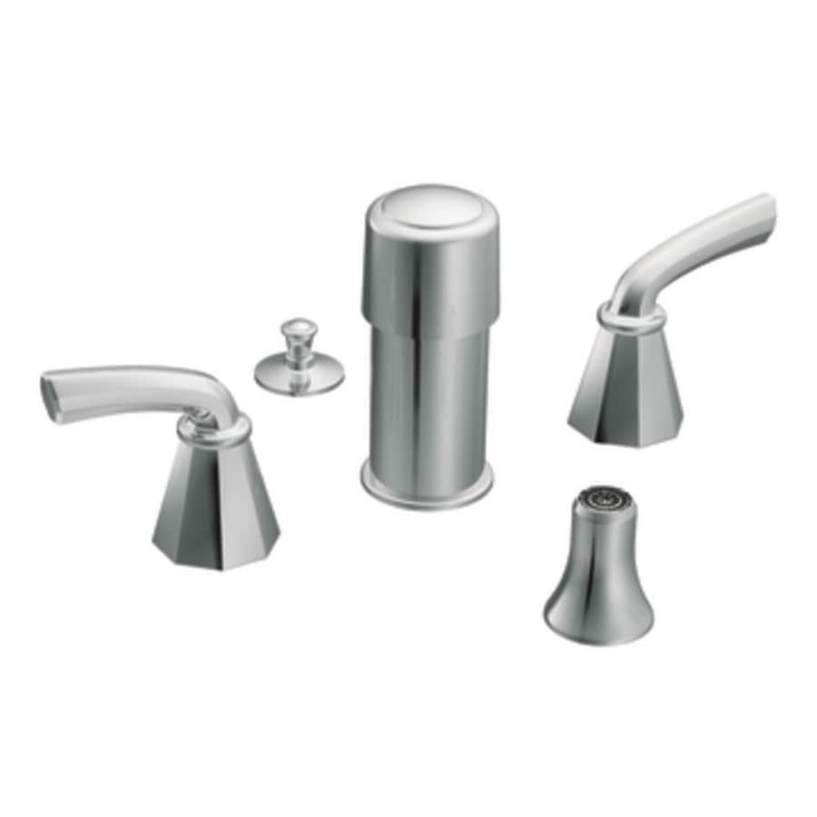 Moen Showhouse Kitchen Faucets: Shop Moen Felicity Chrome Vertical Spray Bidet Faucet Trim