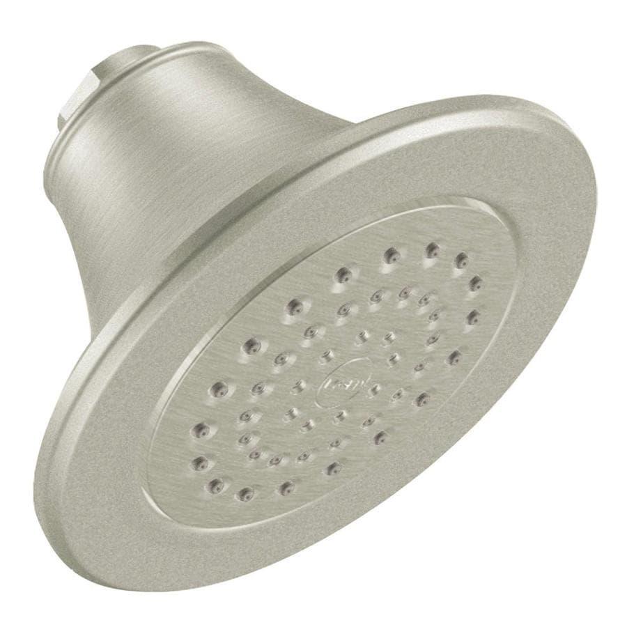 Moen Brushed Nickel 1-Spray Shower Head