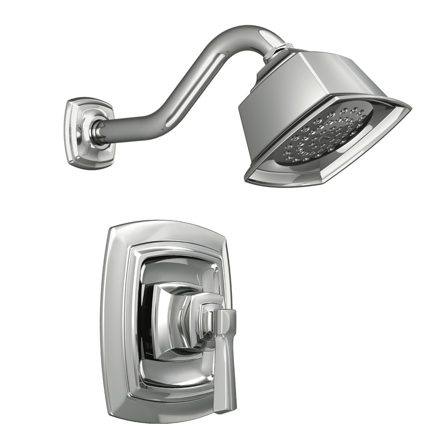 Moen Boardwalk Chrome 1-Handle Shower Faucet with Single Function Showerhead