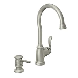 Moen Anabelle Spot Resist Stainless 1 Handle Bar And Prep Faucet