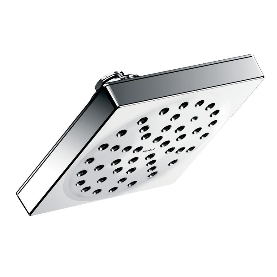 Moen 90 Degree 6-in 1.75-GPM (6.6-LPM) Chrome 1-Spray WaterSense Rain Showerhead
