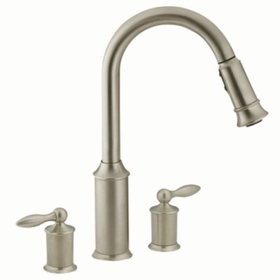 Aberdeen Classic Stainless Pull-Down Kitchen Faucet