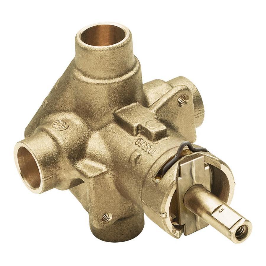 Moen 1/2-in Brass Compression In-Line Rough-in Valve