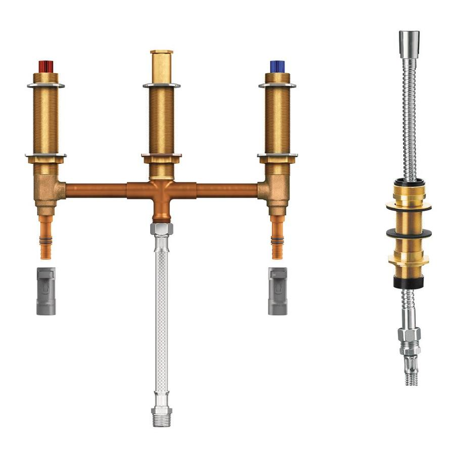 Moen 1/2-in Brass PEX In-Line Rough-In Valve