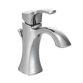 moen voss 1handle single hole watersense bathroom faucet drain included