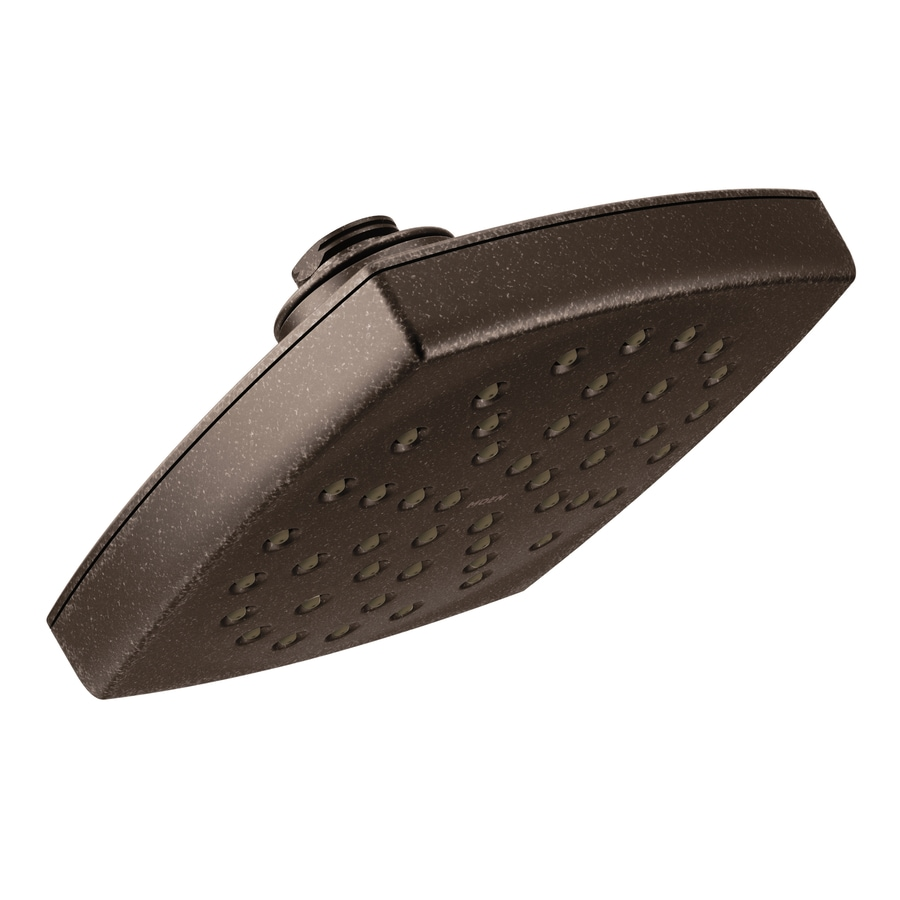 Moen Voss 6-in 2.0-GPM (7.6-LPM) Oil-Rubbed Bronze 1-Spray WaterSense Rain Showerhead